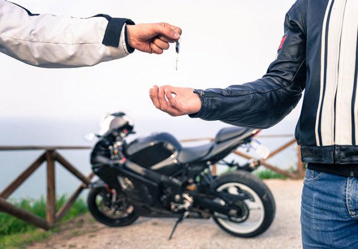 Używany motocykl